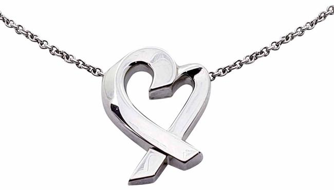 Tiffany & Co. Paloma Picasso Open Heart T&co. Pendant Necklace Tiffany & Co. Paloma Picasso Open Heart T&co. Pendant Necklace Image 1
