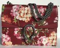 Gucci Shoulder Bag Dionysus New Gg Chain Blooms Medium Red Leather Tote Gucci Shoulder Bag Dionysus New Gg Chain Blooms Medium Red Leather Tote Image 5