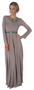 light brown Maxi Dress by Max Studio Easy Heather