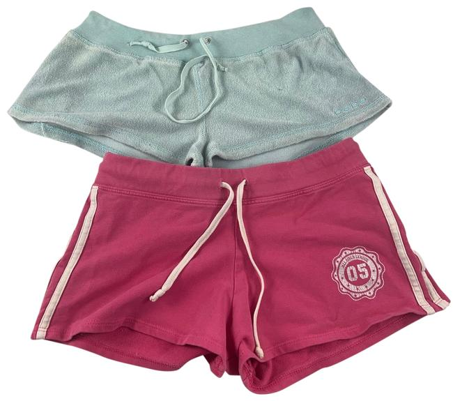 Item - Pink/Blue 2 Pc Sm All Girls League Mini Gym Activewear Bottoms Size 4 (S)