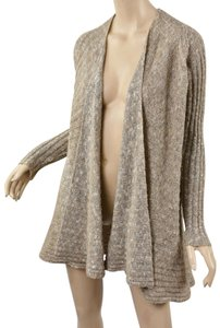 Free People Small Shell Knit Ribbed Stunning Cardigan