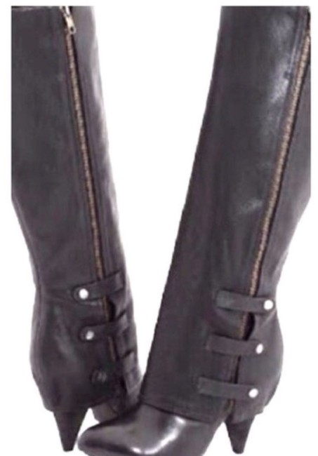 Miss Sixty Brown Harper Knee High Boots/Booties Size US 6.5 Regular (M, B) Miss Sixty Brown Harper Knee High Boots/Booties Size US 6.5 Regular (M, B) Image 1