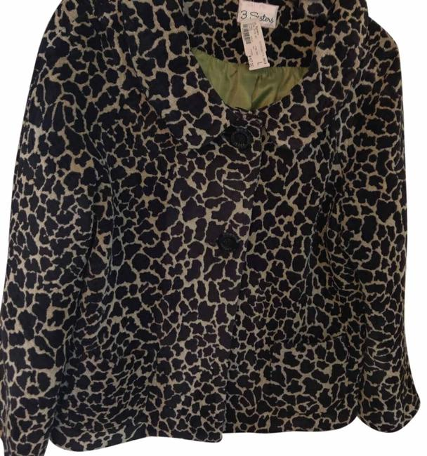 Item - Black and Cream Jacket Size 12 (L)