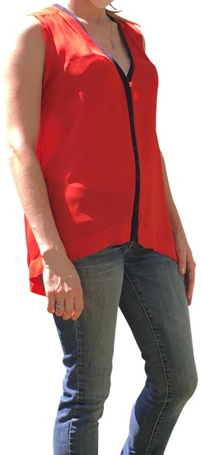 Preload https://img-static.tradesy.com/item/27736944/alc-red-summer-collection-blouse-size-0-xs-0-1-650-650.jpg