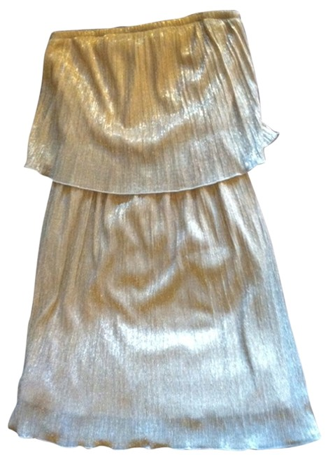 Preload https://item2.tradesy.com/images/francesca-s-gold-glitter-strapless-elastic-band-at-top-mini-night-out-dress-size-4-s-2773711-0-0.jpg?width=400&height=650