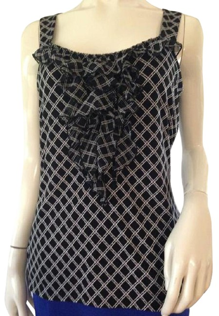 Item - House/Black & (Sku 000209) Halter Top Size 8 (M)