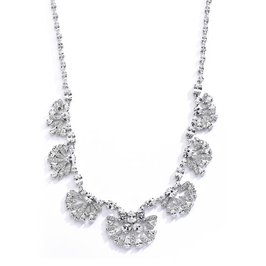 Maquificent Crystal Necklace & Earrings Jewelry Set