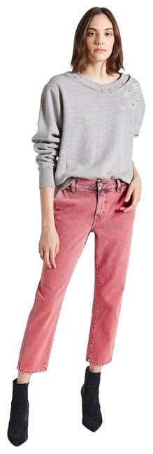 Item - Pink Acid Confidant Cropped Relaxed Fit Jeans Size 6 (S, 28)