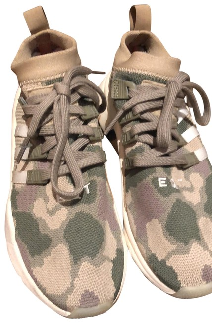 Item - Camo with Red White and Blue Stripe Eqt Support Mid Asv Sneakers Size US 7 Regular (M, B)