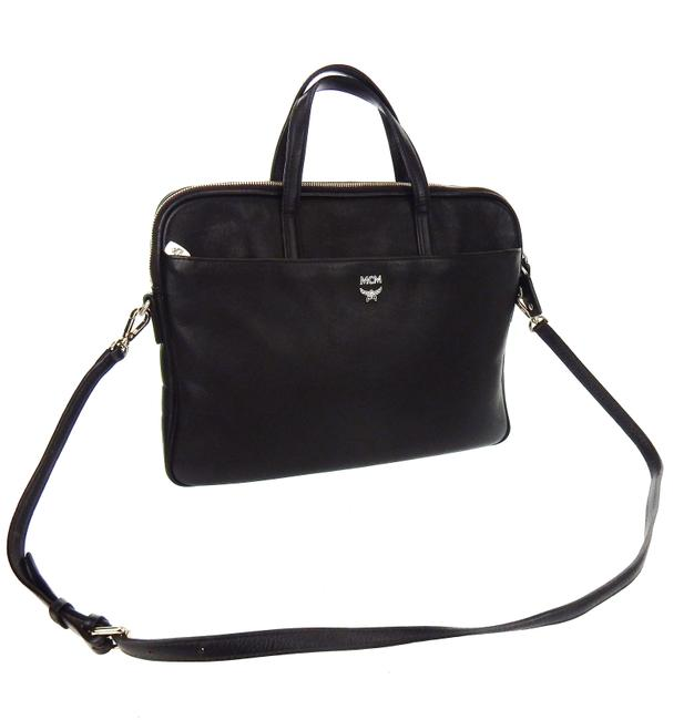 Item - Shoulder Two-way Documents Brown Saffiano Leather Laptop Bag