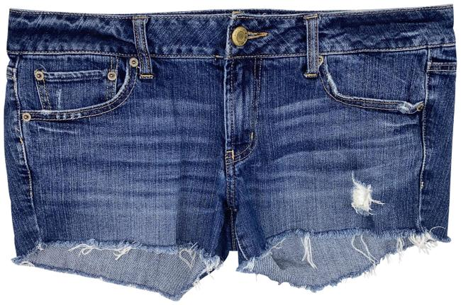 American Eagle Outfitters Blue Favorite Boyfriend Jean Stretch Shorts Size 12 (L, 32, 33) American Eagle Outfitters Blue Favorite Boyfriend Jean Stretch Shorts Size 12 (L, 32, 33) Image 1
