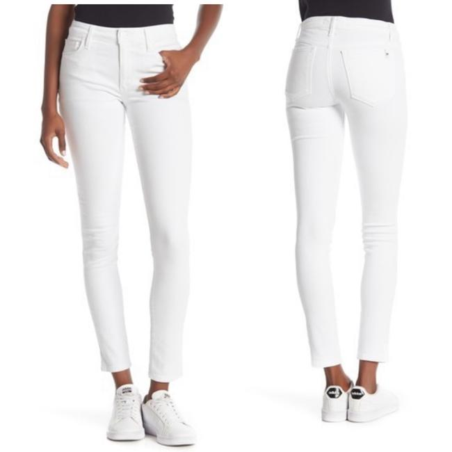 Item - White Light Wash Icon Mid Rise Skinny Jeans Size 6 (S, 28)