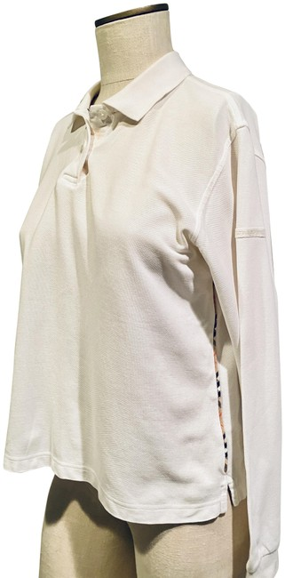 Item - White Collared Golf Activewear Top Size 12 (L)