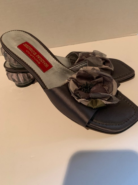 Andrea Pfister Couture Grey Formal Shoes Size US 8.5 Regular (M, B) Andrea Pfister Couture Grey Formal Shoes Size US 8.5 Regular (M, B) Image 4