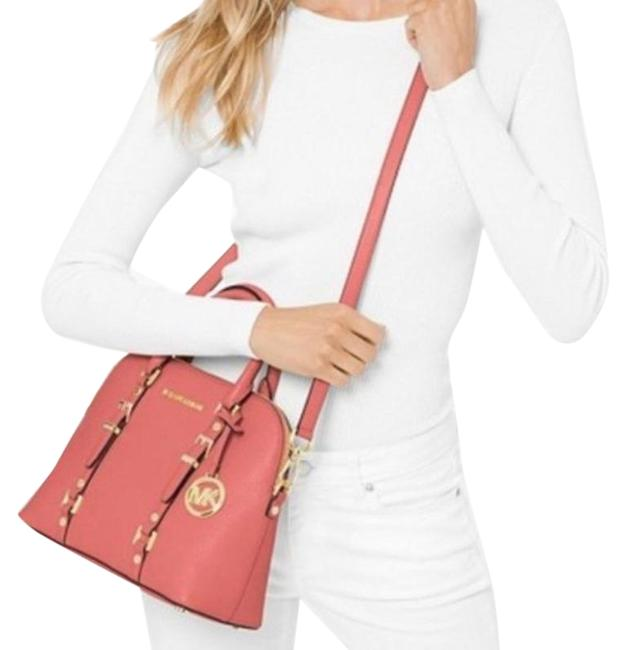 Item - Bedford Legacy Dome Pink Leather Satchel