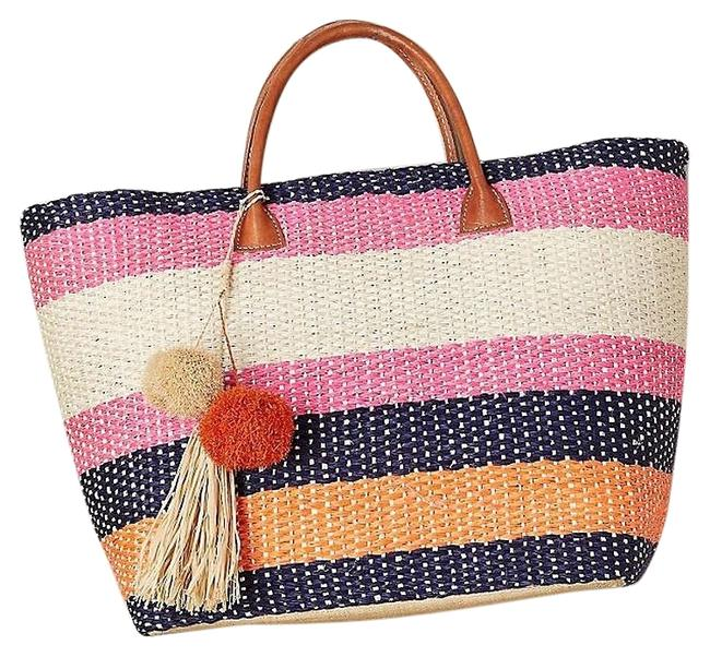 Item - Tote Provence Multicolor Suede Leather Beach Bag