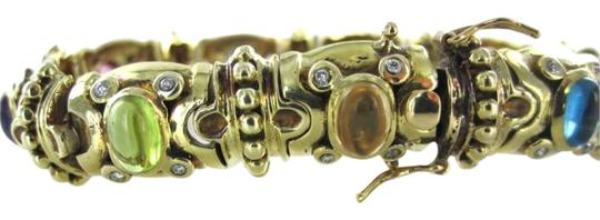 Preload https://img-static.tradesy.com/item/277418/gold-14kt-yellow-multicolor-vintage-bracelet-diamond-antique-0-0-540-540.jpg