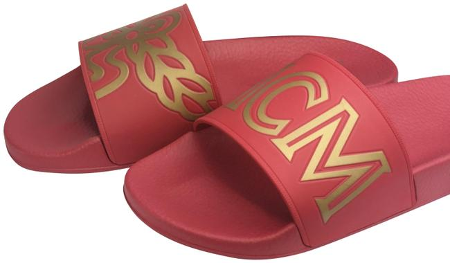 Item - Red Rubber Ruby Sandals Size US 9 Regular (M, B)