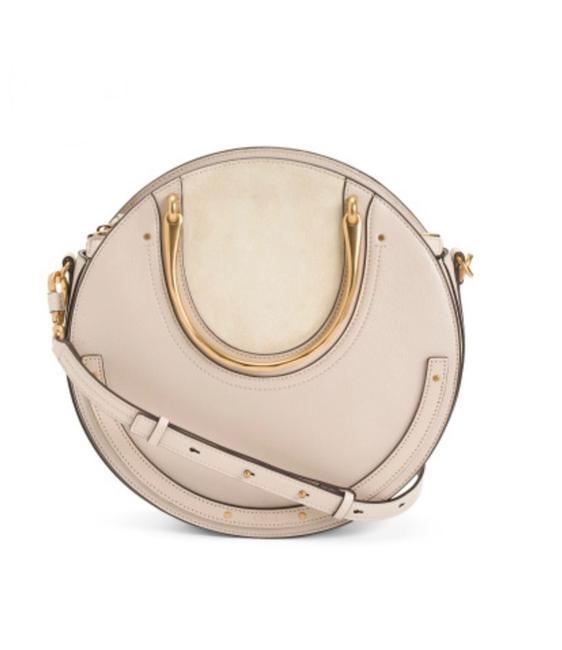 Item - Pixie Large White Leather Tote