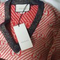 Gucci short dress Red, biege/gold, multicolor on Tradesy