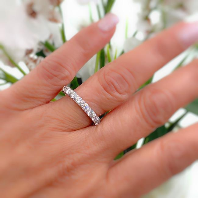 Item - White Gold Love Collection 1 1/5 Tcw Diamond Ring 14k Women's Wedding Band