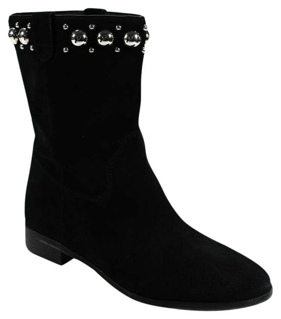 Item - Black Women's Pointed Toe Ankle Suede 8 Boots/Booties Size US 8.5 Regular (M, B)