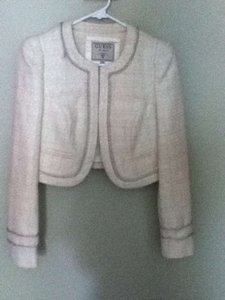 Guess Classic Metallic Rope Trimmed Jacket