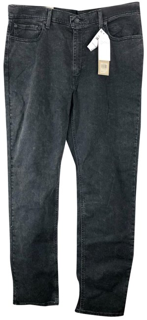 Item - Black Athletic Fit Straight Leg Jeans Size OS (one size)
