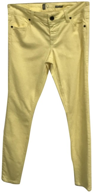 Item - Yellow Light Wash The Four-pocket Jeggings Size 27 (4, S)