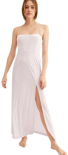 Item - Lilac All I Need Velvet Long Casual Maxi Dress Size 6 (S)