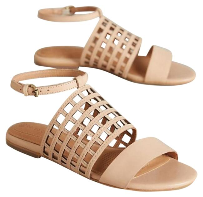 Item - Cream Corso Como Caged Sandals Size US 10 Regular (M, B)