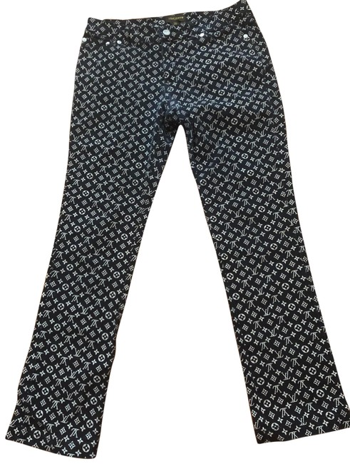 Preload https://img-static.tradesy.com/item/27750159/louis-vuitton-black-vintage-denim-boot-cut-jeans-size-6-s-28-0-1-650-650.jpg
