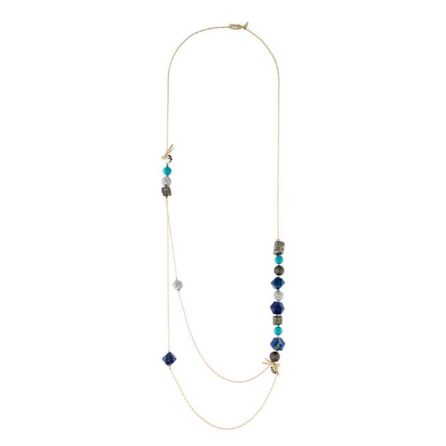 Alexis Bittar • Hornet Turquoise Stone Necklace Alexis Bittar • Hornet Turquoise Stone Necklace Image 1