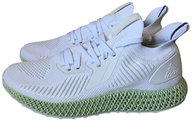 adidas White Green Alphaedge 4d Sneakers Size US 12.5 Regular (M, B) adidas White Green Alphaedge 4d Sneakers Size US 12.5 Regular (M, B) Image 1
