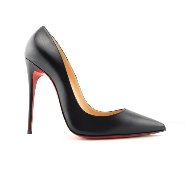 Christian Louboutin Black Kid Leather Classic Pointed Toe Heel Pumps Size EU 38.5 (Approx. US 8.5) Regular (M, B) Christian Louboutin Black Kid Leather Classic Pointed Toe Heel Pumps Size EU 38.5 (Approx. US 8.5) Regular (M, B) Image 1