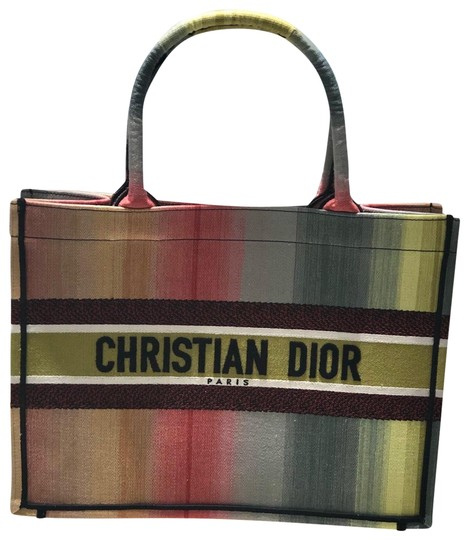 Preload https://img-static.tradesy.com/item/27750921/dior-small-book-2020-rainbow-canvas-tote-0-1-540-540.jpg