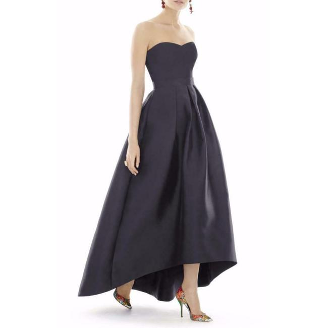 Preload https://img-static.tradesy.com/item/27751013/alfred-sung-onyx-d699s-strapless-high-low-satin-mid-length-night-out-dress-size-12-l-0-0-650-650.jpg