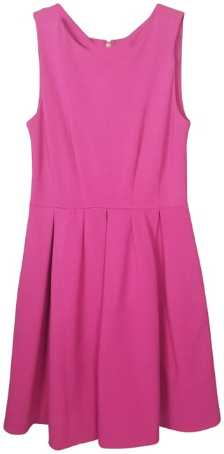 Preload https://img-static.tradesy.com/item/27751067/kate-spade-pink-pleated-fit-and-flare-mid-length-workoffice-dress-size-4-s-0-1-650-650.jpg