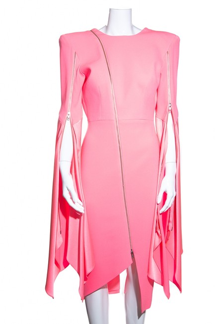 Preload https://img-static.tradesy.com/item/27751077/alex-perry-pink-neon-structured-zipper-mid-length-cocktail-dress-size-10-m-0-0-650-650.jpg