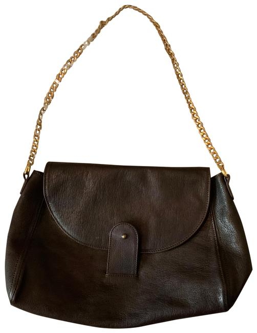 Brown Leather Cross Body Bag Brown Leather Cross Body Bag Image 1