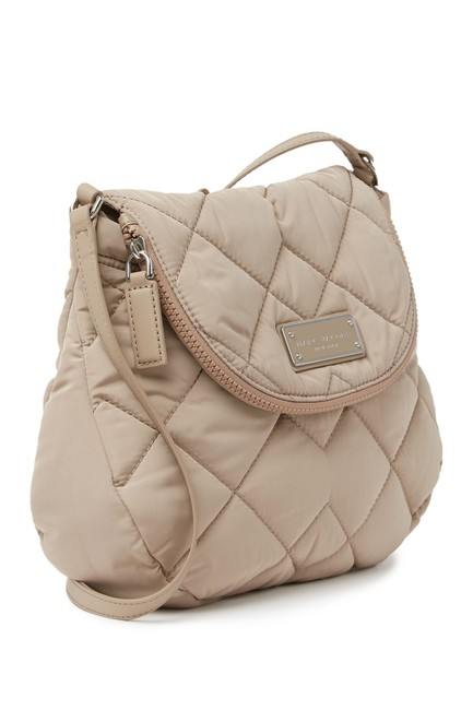 Marc Jacobs Quilted Beige Nylon Cross Body Bag Marc Jacobs Quilted Beige Nylon Cross Body Bag Image 1