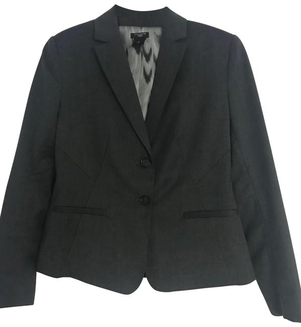 Item - Gray Classic Wool In Skirt Suit Size 4 (S)