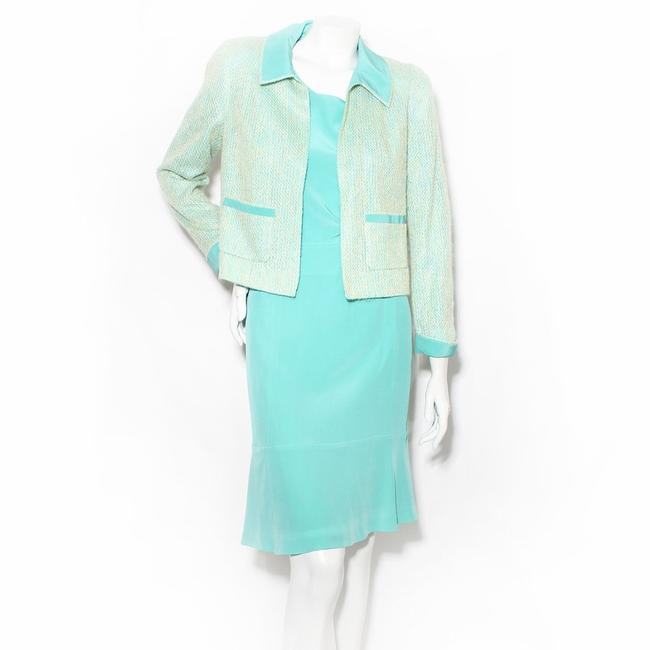 Item - Sea-foam Green 3 Piece Skirt Suit Size 10 (M)