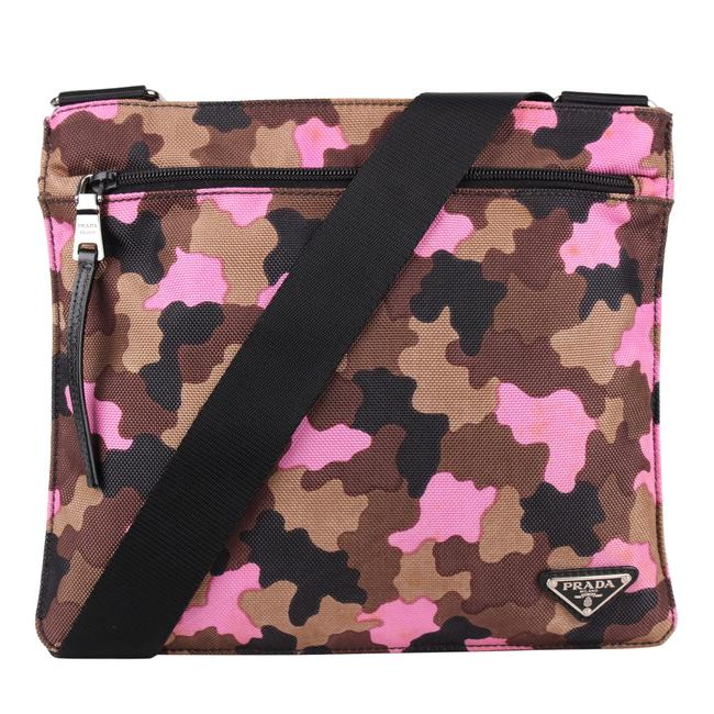 Item - Like New Camouflage 8588 Multi Color Canvas Cross Body Bag