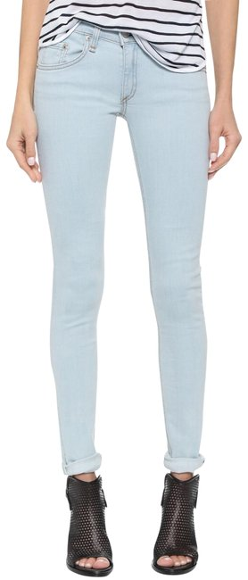 Item - White Water Light Wash Skinny Jeans Size 10 (M, 31)