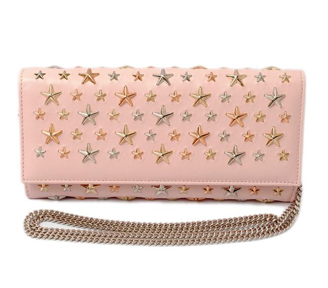 Item - Rose Gold Pochette Milla Multimetal Star Wallet