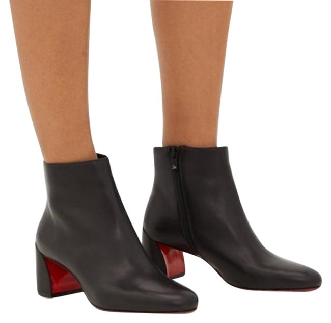 Item - Red Black Turela 55 Leather Ankle Boots/Booties Size EU 37.5 (Approx. US 7.5) Regular (M, B)