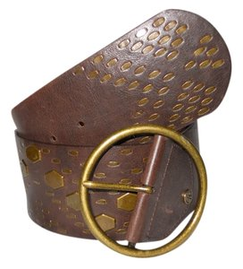 Jessica Simpson Jessica Simpson faux leather wide studded belt
