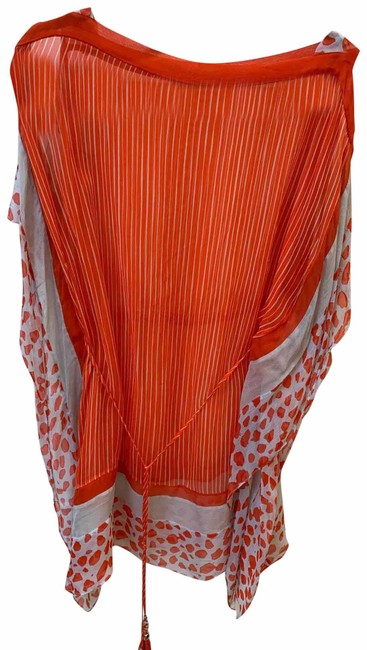 Item - Orange Cover-up/Sarong Size Petite 6 (S)