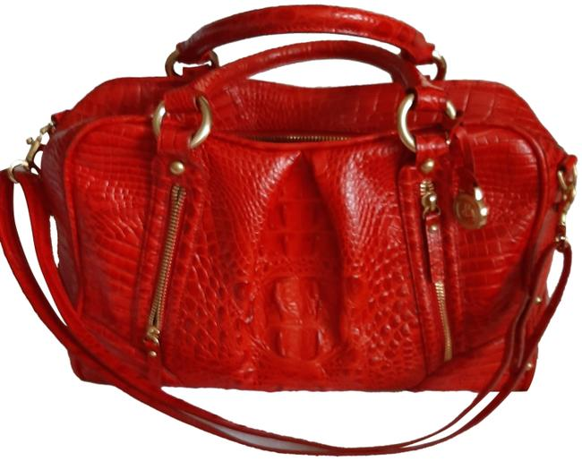 Item - Selma Melbourne Red Leather Satchel